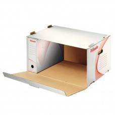 Контейнер архивный картонный Esselte Standard, белый
