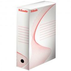 Короб архивный картонный Esselte Standard, 100 мм, белый