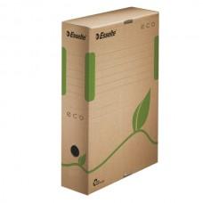 Короб архивный картонный Esselte Eco, 80 мм, коричневый