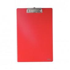Планшет А4 Esselte с прижимом, красный