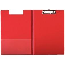 Папка-планшет А4 Esselte с прижимом, красная