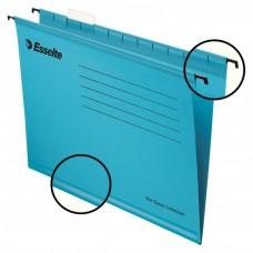 Файл подвесной А4 Esselte Classic, картонный, 25 шт., синий
