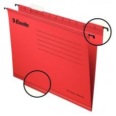 Файл подвесной А4 Esselte Classic, картонный, 25 шт., красный