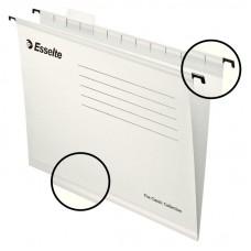 Файл подвесной А4 Esselte Classic, картонный, 25 шт., белый