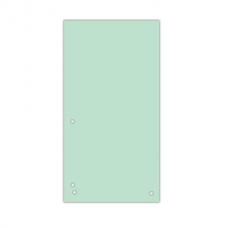 Разделитель листов 105х230 мм Donau, картон, 100 шт., зеленый