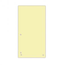 Разделитель листов 105х230 мм Donau, картон, 100 шт., оранжевый