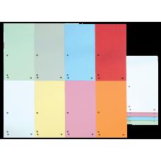Разделитель листов 105х230 мм Donau, картон, 100 шт., ассорти