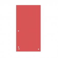 Разделитель листов 105х230 мм Donau, картон, 100 шт., красный