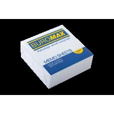 Бумага для заметок 80х80 мм. Buromax, 330 л., непроклеенная, белая