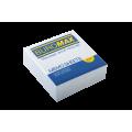 Бумага для заметок 90х90 мм. Buromax Jobmax, 330 л., проклеенная, белая