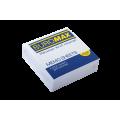 Бумага для заметок 90х90 мм. Buromax Jobmax, 330 л., непроклеенная, белая