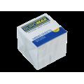 Бумага для заметок 90х90 мм. Buromax Jobmax, 1000 л., непроклеенная, белая