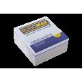 Бумага для заметок 90х90 мм. Buromax Радуга, 440 л., непроклеенная, цветная