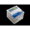 Бумага для заметок 90х90 мм. Buromax Jobmax Радуга, 770 л., непроклеенная, цветная