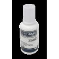 Корректирующая жидкость Jobmax Buromax с кисточкой, 20 мл