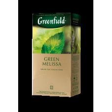 Чай зеленый Greenfield Green Melissa 1,5г, 25шт, пакетированный