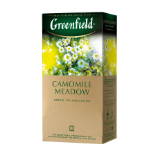 Чай травяной Greenfield Camomile Meadow 1,5г, 25шт, пакетированный