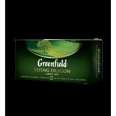 Чай зелёный Greenfield Flying Dragon 2г, 25шт, пакетированный
