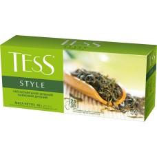 Чай зелёный Tess Style 1,8г, 25шт, пакетированный