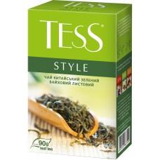 Чай зелёный Tess Style 90г, листовой