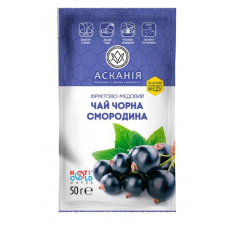Чай фруктово-медовый Аскания-Пак Черная смородина 50г, сашет