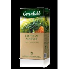 Чай зелёный Greenfield Tropical Marvel 2г, 25шт, пакетированный