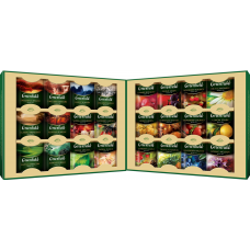 Набор пакетированого чая Greenfield ассорти, 24 сорта по 4шт, 96 пакетиков
