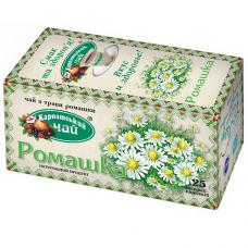 Чай травяной Карпатський Чай Ромашка 1г, 20шт, пакетированный