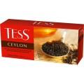 Чай черный Tess Ceylon 2г, 25шт, пакетированный