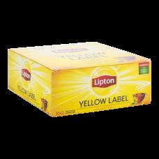 Чай черный Lipton Yellow Label 2г, 100шт, пакетированный