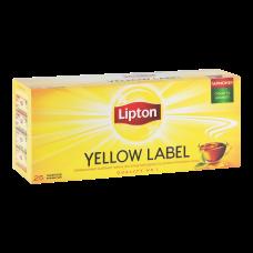 Чай черный Lipton Yellow Label 2г, 25шт, пакетированный