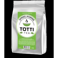Чай зелёный Totti Tea Весенний жасмин 250г, листовой