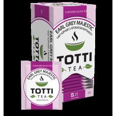 Чай черный Totti Tea Ерл Грей Маджестик 2г, 25шт, пакетированный