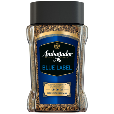 Кофе растворимый Ambassador Blue Label, 95г