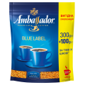 Кофе растворимый Ambassador Blue Label, 400г