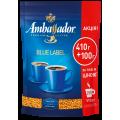 Кофе растворимый Ambassador Blue Label, 510г