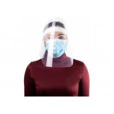 Экран-маска Economix, защитный, прозрачный, крепление на ленте кнопками