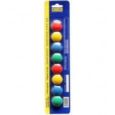 Комплект магнитов Buromax, 20 мм, 8 шт. в упаковке