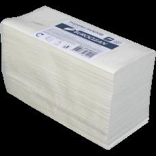 Полотенца целлюлозные V-образные Buroclean, 200шт, белые, 2 слоя