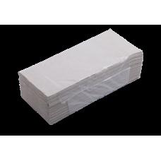 Полотенца макулатурные Z-образные Buroclean, 160 шт, серые