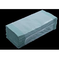 Полотенца макулатурные Z-образные Buroclean, 160 шт, зеленые