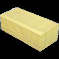 Полотенца целлюлозные V-образные Buroclean, 160 шт, желтые, 2 слоя
