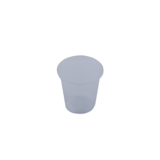 Стаканы одноразовые термостойкие Buroclean, 100 мл. прозрачные, 100 шт