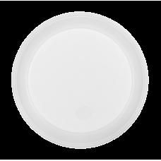 Тарелки одноразовые десертные Buroclean, диаметр 16,5 см. белые, 100 шт.
