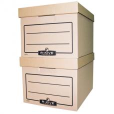 """Контейнер архивный картонный Fellowes """"R-Kive Basics"""", крафт"""