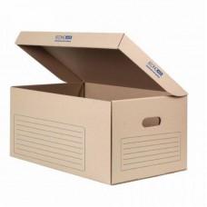 Контейнер архивный картонный Economix, бурый