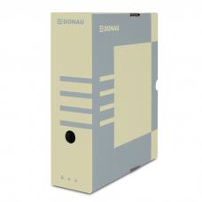 Короб архивный картонный Donau, 100 мм, крафт