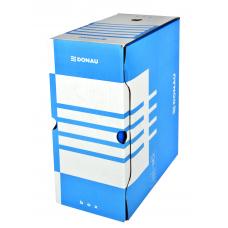 Короб архивный картонный Donau, 155 мм, синий