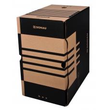 Короб архивный картонный Donau, 200 мм, коричневый