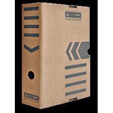 "Короб архивный картонный Buromax ""Jobmax"", 100 мм, крафт"